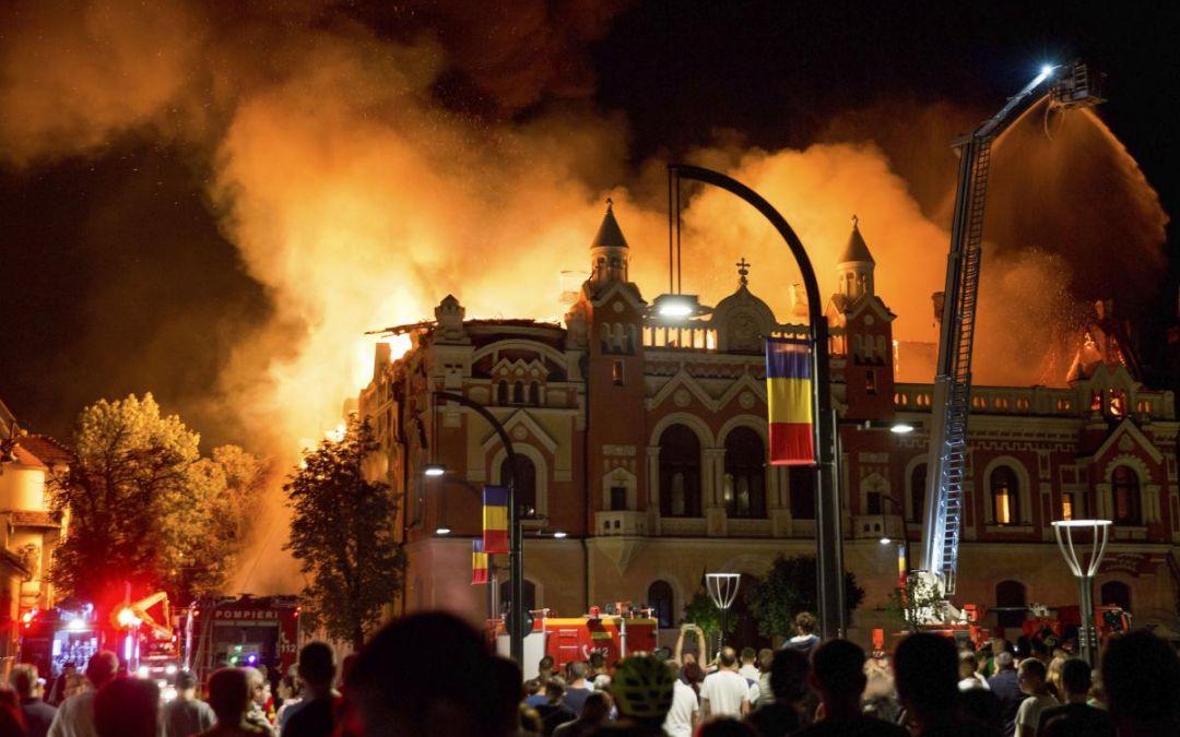 Sprijin financiar din partea Arhiepiscopiei Clujului pentru refacerea Palatulului Episcopiei Greco-Catolice din Oradea
