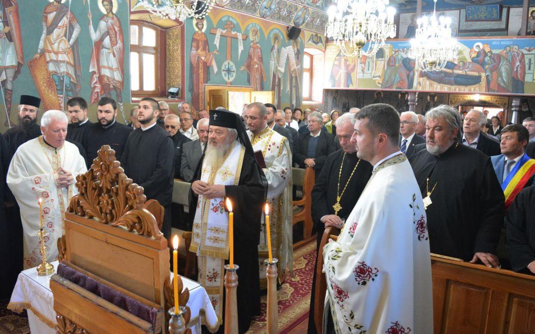 190 de ani de la ctitorirea bisericii ortodoxe din Ciceu-Giurgești, aniversați în prezența Mitropolitului Clujului