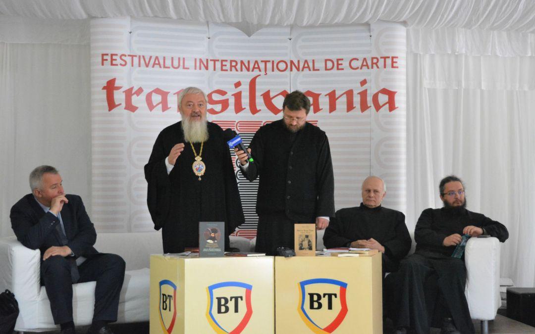 Două lansări de carte ale Editurii Renașterea în cadrul Festivalului Internațional de Carte Transilvania, în prezența Înaltpreasfințitului Părinte Andrei