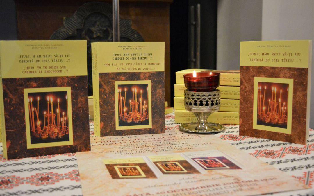 """Lansarea volumului bilingv român-francez """"Fiule m'am vrut să-ți fiu candelă de ceas târziu…!"""", în prezența Înaltpreasfințitului Părinte Andrei"""