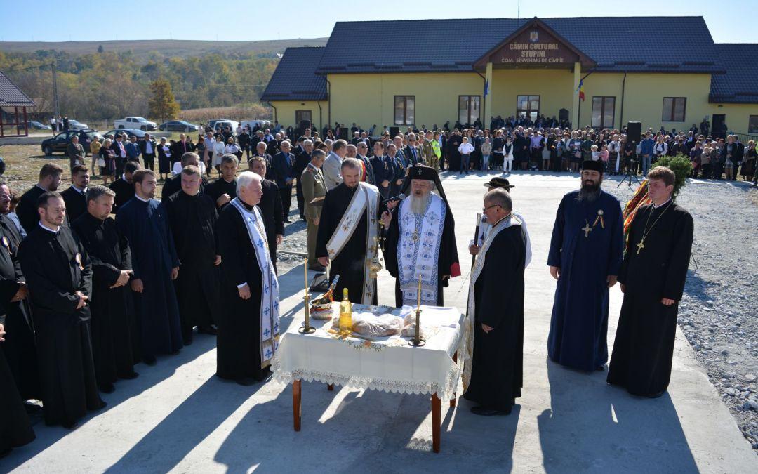 700 de ani de la prima atestare documentară a satului Stupini, sărbătoriți în prezența Mitropolitului Clujului