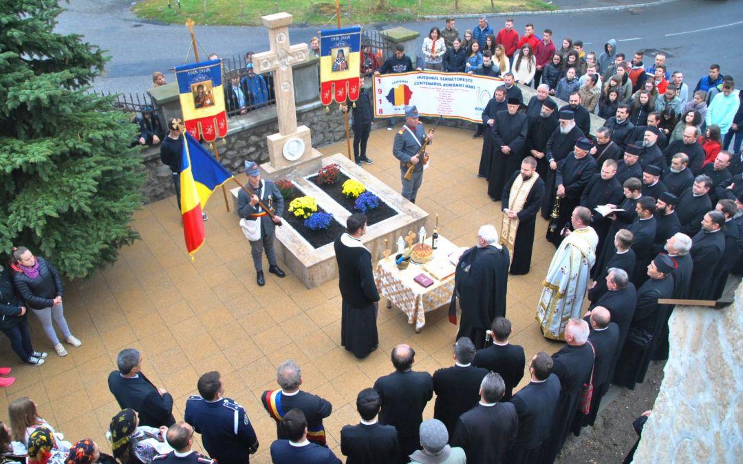 Protopopul Aurel Munteanu, care a participat şi a votat Marea Unire de la Alba Iulia, şi plutonierul Gheorghe Nicula, amândoi ucişi de trupele horthyste, comemorați la Huedin
