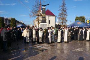 Comemorarea martirilor de la Târgu Lăpuș, în prezența a doi ierarhi ai Mitropoliei Clujului
