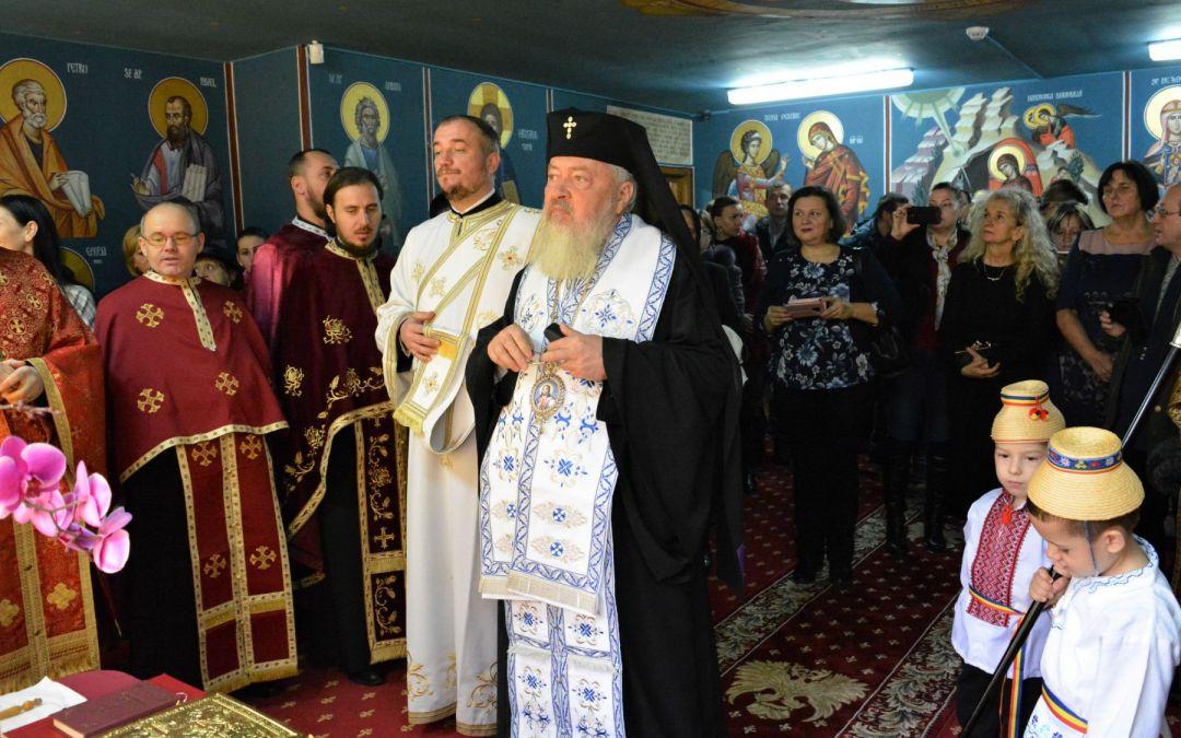 """Paraclisul Grădiniței """"Căsuța fermecată"""" din Gherla, sfințit de Înaltpreasfințitul Părinte Andrei"""