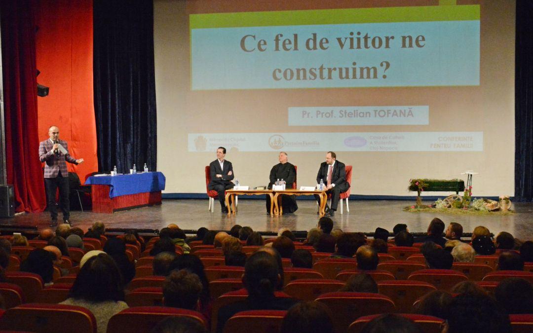 """IPS Andrei la Conferința """"Ce viitor ne construim?"""", susținută de Pr. Stelian Tofană și Adrian Papahagi"""