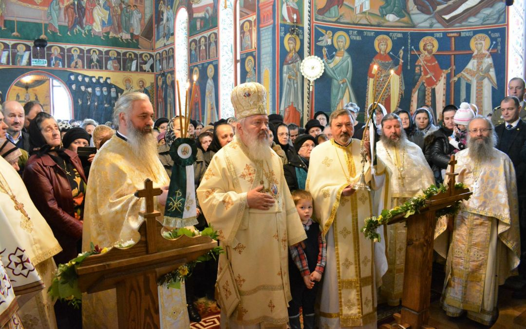Sfântul Ierarh Spiridon, sărbătorit la Mănăstirea Strâmba, în prezența Mitropolitului Clujului