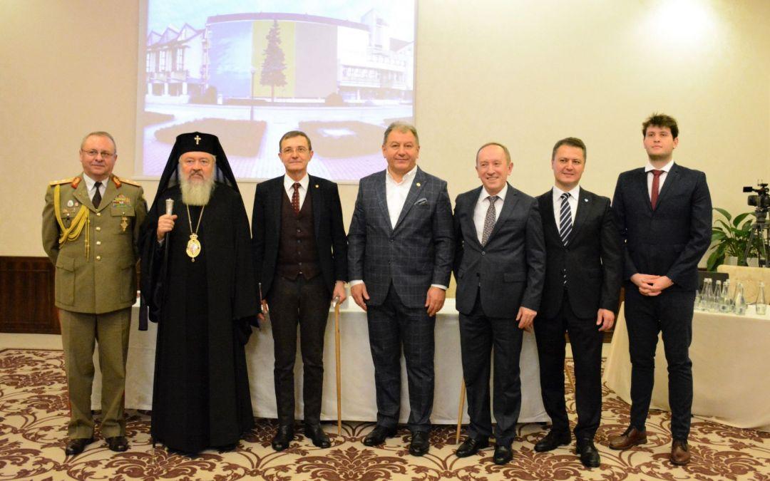 Părintele Mitropolit Andrei, cetățean de onoare al județului Bistrița-Năsăud