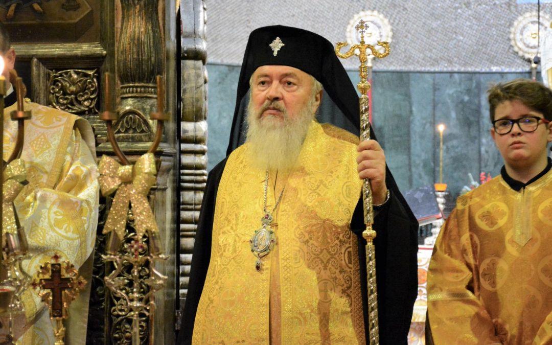 """IPS Andrei, la începutul anului 2019: """"Să rămânem credincioși, apropiați de biserică și unii de alții"""""""