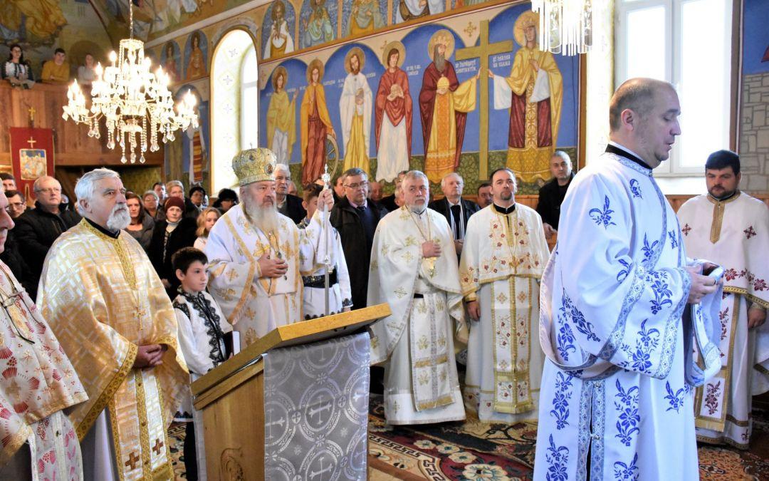 Binecuvântare arhierească pentru credincioșii din Șoimeni, județul Cluj