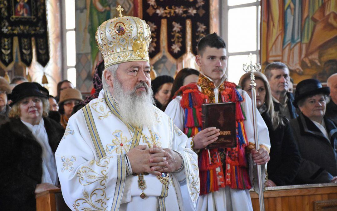 Binecuvântare arhierească pentru credincioșii din localitatea Cetan