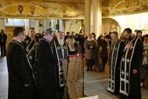 """Mitropolitul Andrei a oficiat prima parte a Canonului cel Mare în Biserica """"Schimbarea la Față"""" din Cluj-Napoca"""