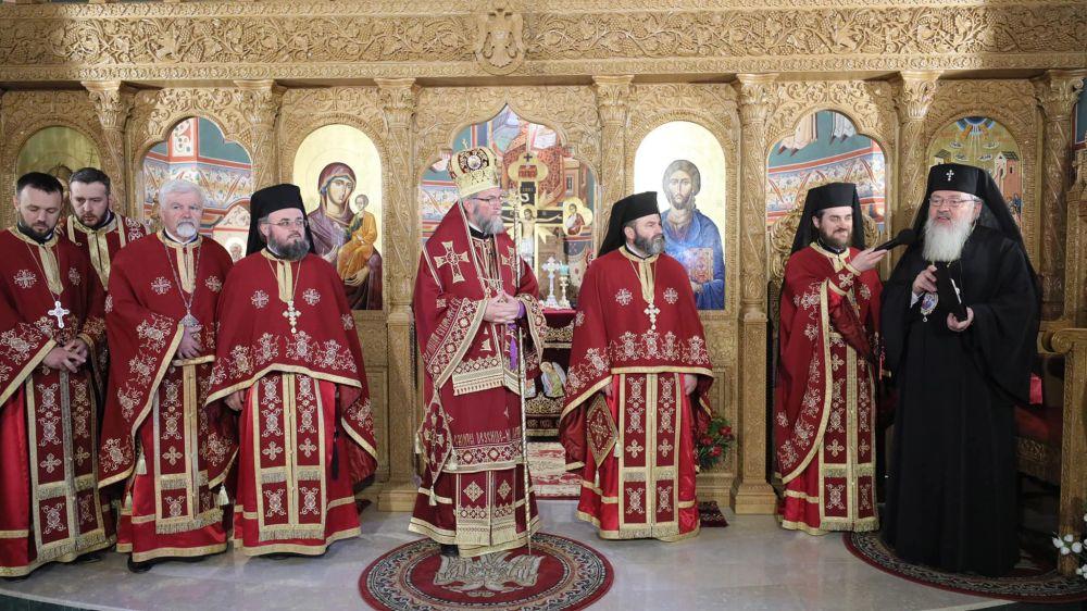 Episcopul Iustin a aniversat 25 ani de la hirotonia întru Arhiereu, în prezența Mitropolitului Andrei