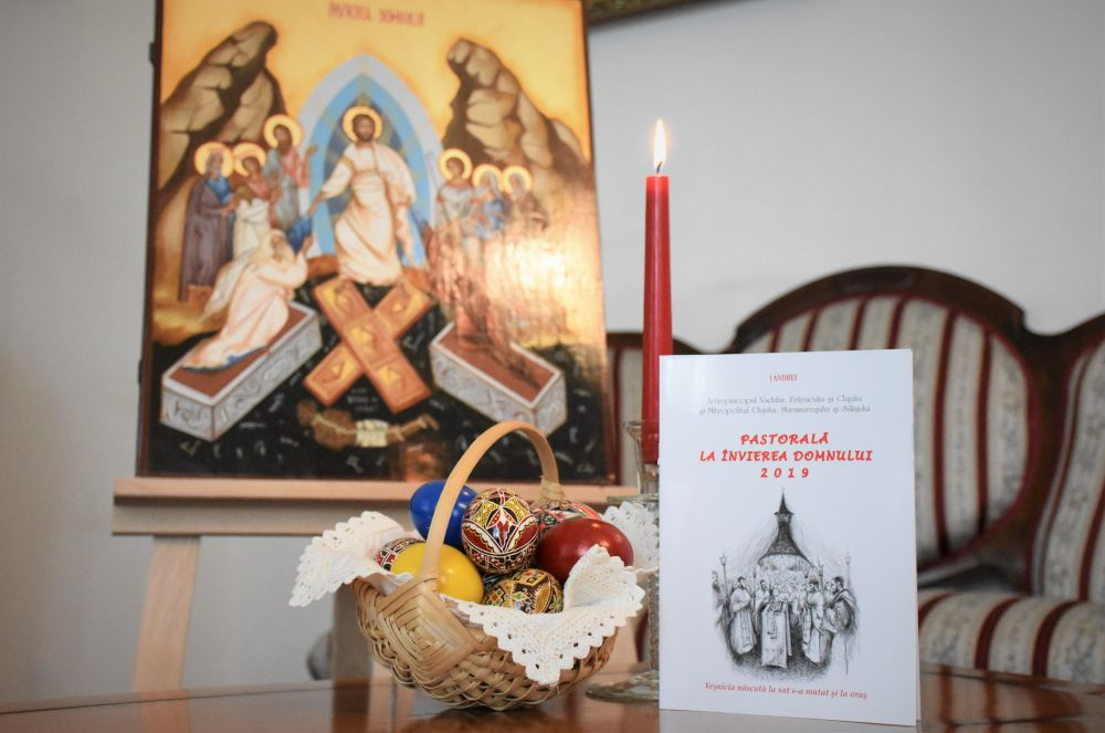Veşnicia născută la sat s-a mutat şi la oraş – Pastorala ÎPS Andrei – Praznicul Învierii Domnului 2019