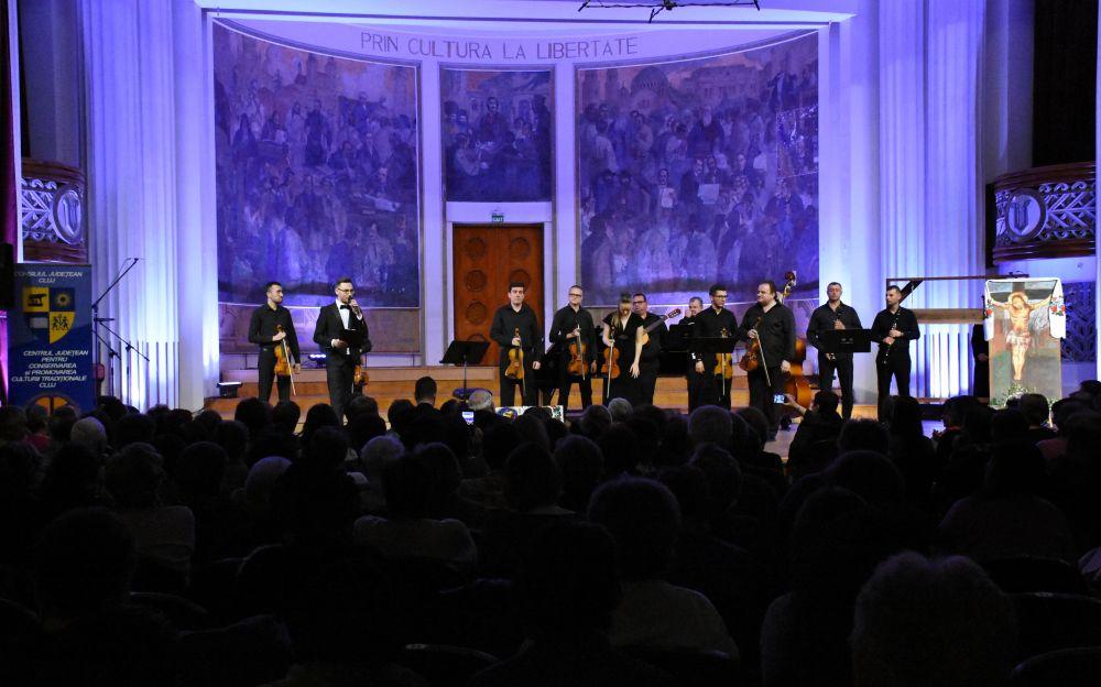 """Concert Prepascal """"Cu noi este Dumnezeu"""", la Cluj-Napoca"""