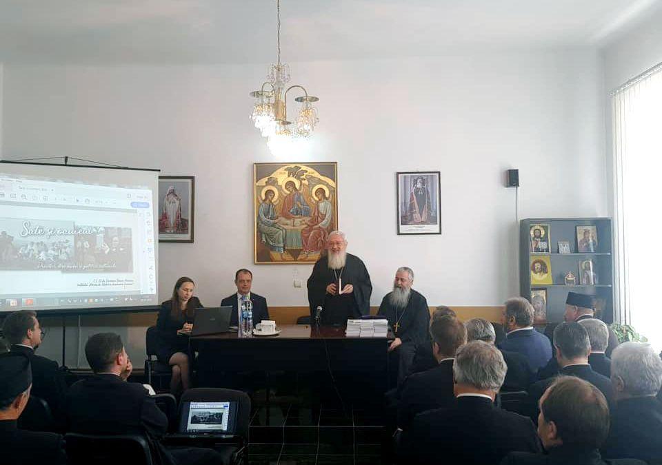 Conferința preoțească de primăvară în Protopopiatul Bistrița. Parastas pentru stareța Mănăstirii Strâmba, Epiharia Brumă