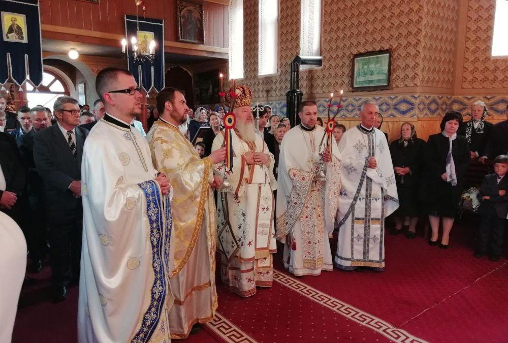 Resfințirea Bisericii din Tiocu de Jos, jud. Cluj
