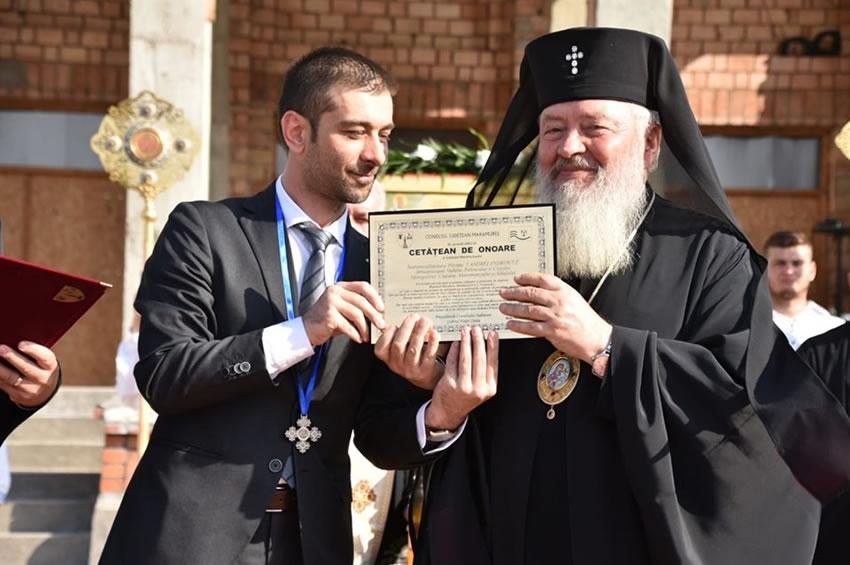 Mitropolitul Clujului a fost desemnat cetăţean de onoare al Judeţului Maramureş