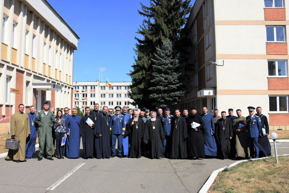 Convocarea anuală a preoților militari din cadrul Statului Major al Forțelor Aeriene Române, la Câmpia Turzii