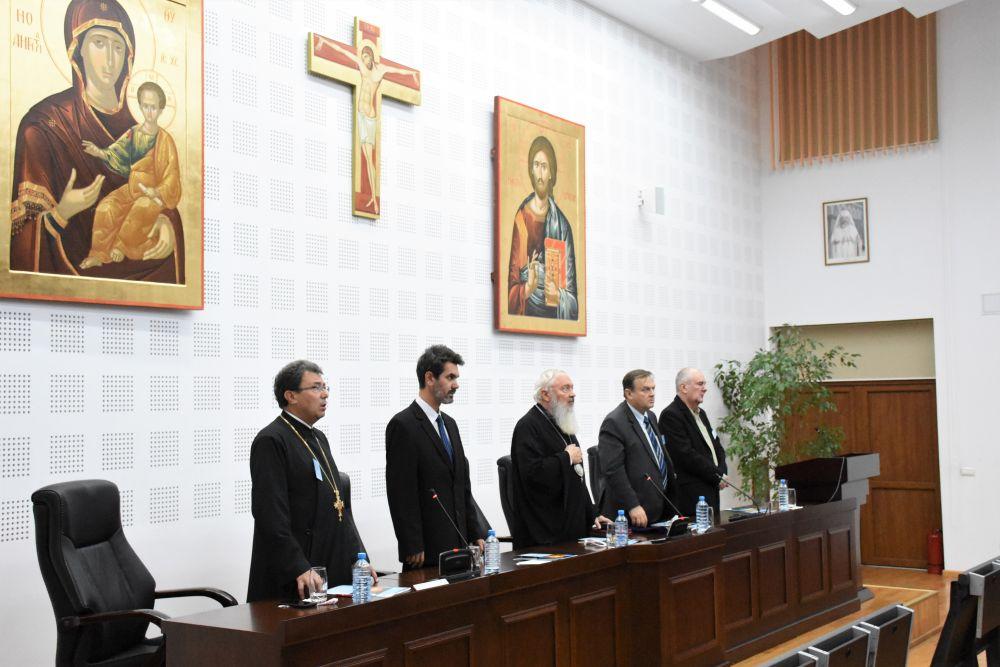Deschiderea Simpozionului Național interdisciplinar dedicat dialogului dintre teologie, filosofie și știință – ediția a VII-a