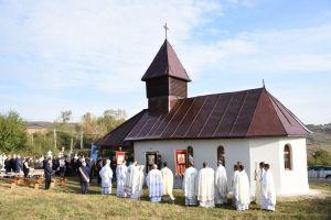 Mitropolitul Andrei a resfințit Biserica din Boju Cătun