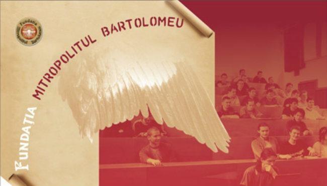 """Fundaţia """"Mitropolitul Bartolomeu"""" oferă prin concurs 34 de burse studiu pentru anul şcolar şi universitar 2019-2020"""