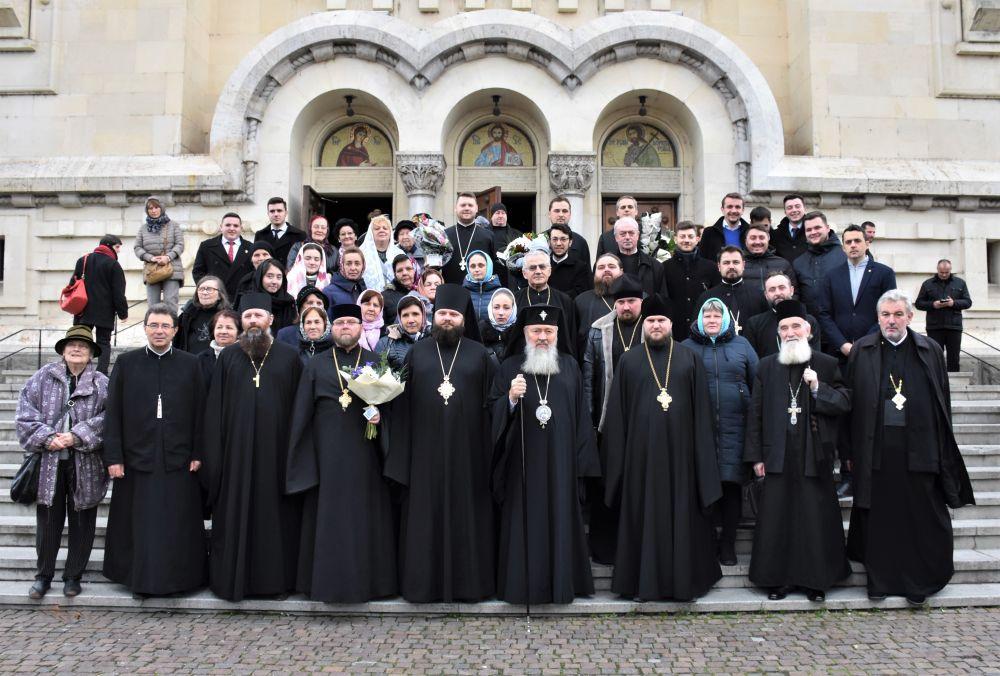 Sfântul Apostol Andrei, sărbătorit la Catedrala Mitropolitană din Cluj-Napoca