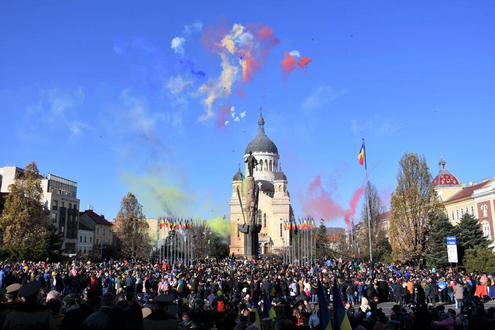 Ceremonie religioasă și militară de Ziua Națională a României, la Cluj-Napoca