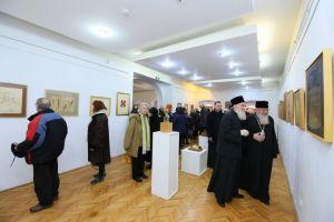 Lucrări de artă – colecția pr. Ioan Bizău, vernisate în prezența Mitropolitului Andrei