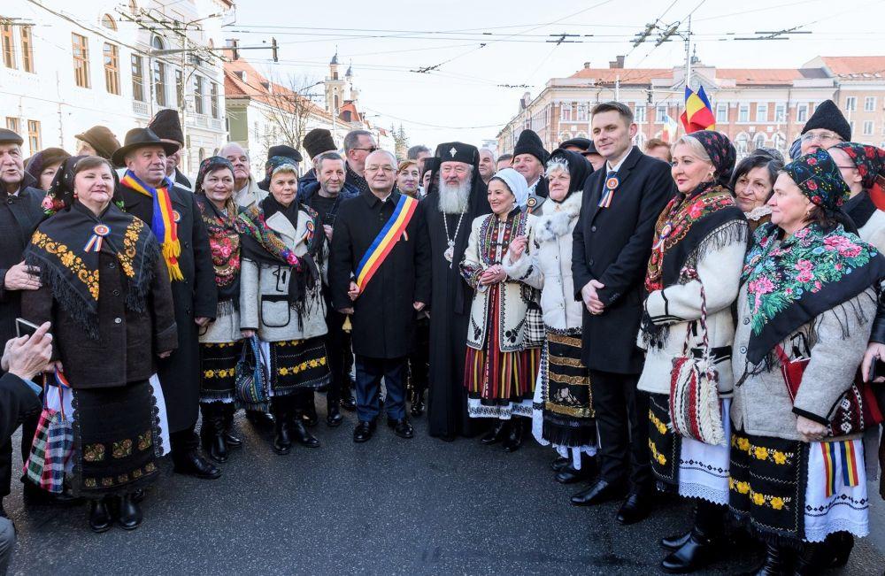 Mica Unire, sărbătorită la Cluj-Napoca | 161 de ani de la Unirea Principatelor Române