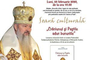 Invitație | Eveniment aniversar: 30 de ani de arhierie ai Înaltpreasfințitului Părinte Arhiepiscop și Mitropolit Andrei