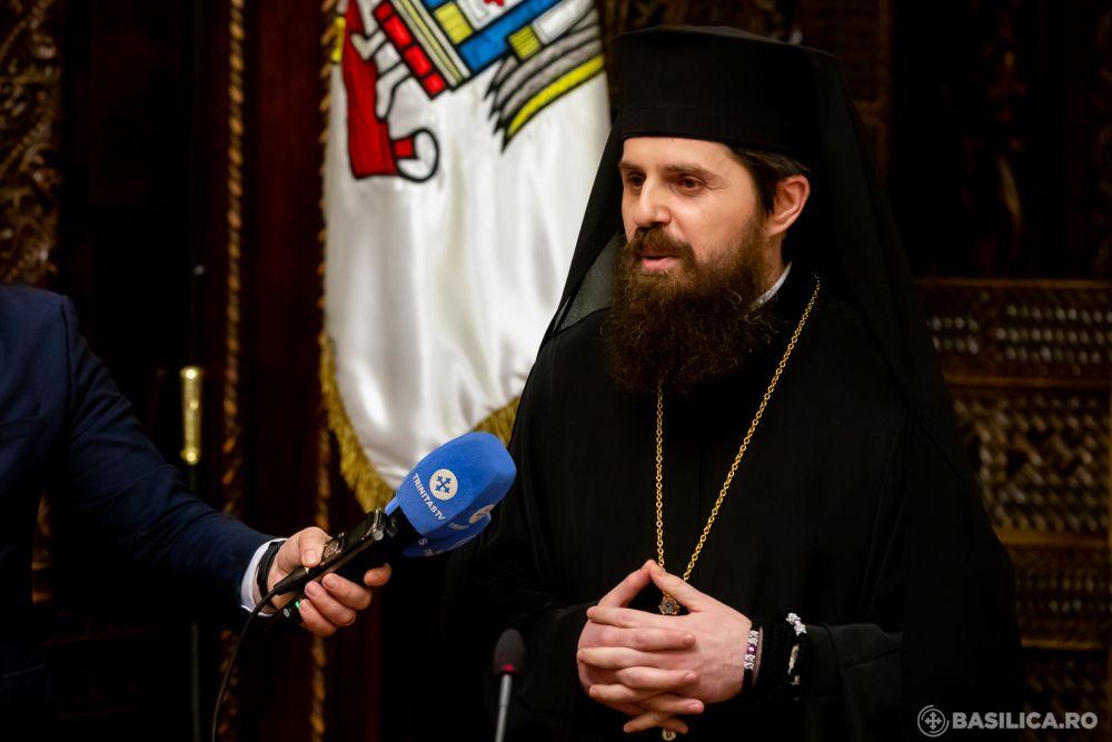 Primele declarații ale Episcopului-vicar ales Benedict Bistrițeanul