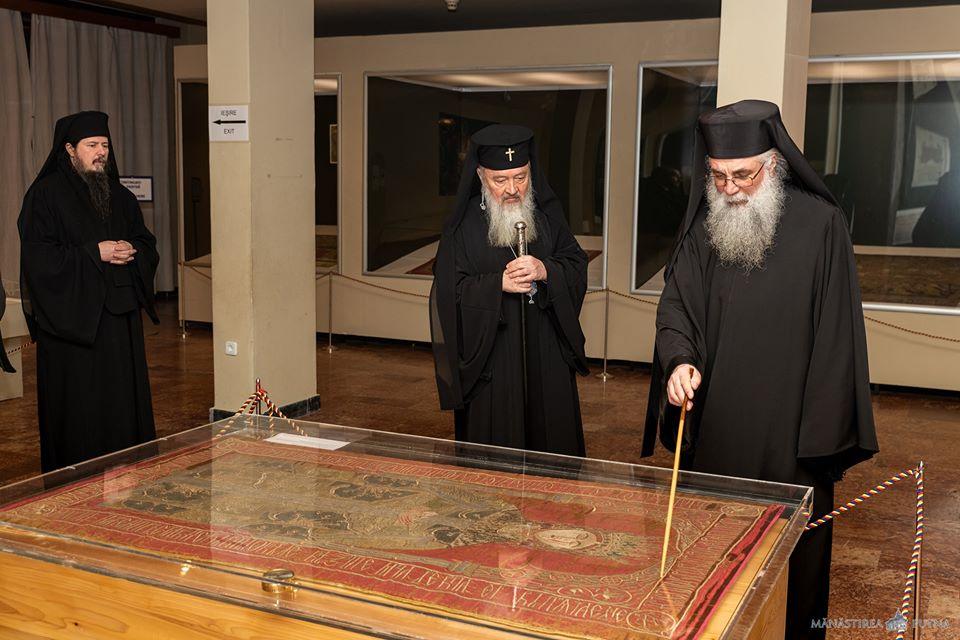 Mitropolitul Andrei a vizitat Mănăstirea Putna