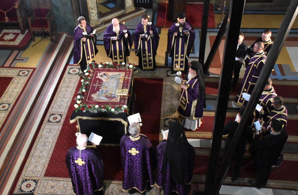 Denia Prohodului Domnului, la Catedrala Mitropolitană din Cluj-Napoca