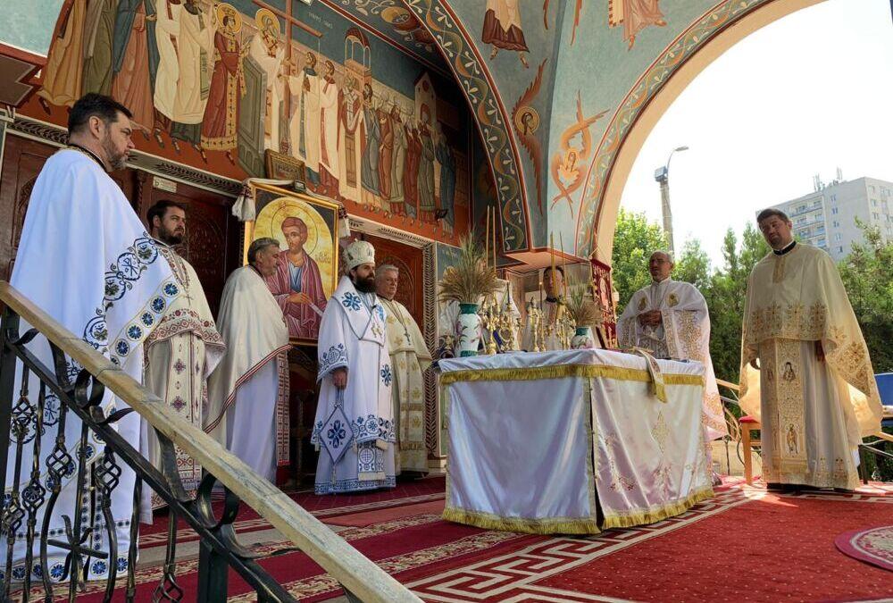 """Sfântul Apostol Bartolomeu, cinstit de credincioșii Parohiei clujene """"Înălțarea Sfintei Cruci"""""""