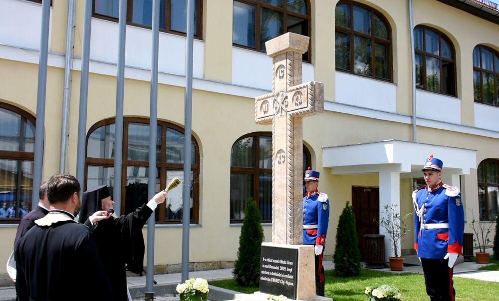 Mitropolitul Clujului a binecuvântat lucrările de renovare efectuate la sediul Grupării de Jandarmi Mobile din Cluj-Napoca
