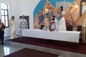 Preasfințitul Benedict Bistrițeanul a sfințit Capela mortuară din Lunca Ilvei