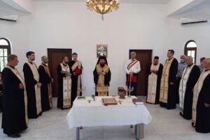 Capela mortuară și casa parohială din Gădălin, binecuvântate de PS Benedict Bistrițeanul