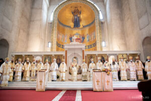 Mitropolitul Andrei al Clujului, la sfințirea Catedralei Episcopale din Oradea