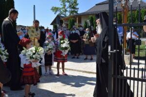 Binecuvântarea capelei mortuare din localitatea Berchieșu