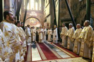 Duminica a 31-a după Rusalii, la Catedrala Mitropolitană | Mitropolitul Andrei și-a sărbătorit ziua de naștere prin rugăciune