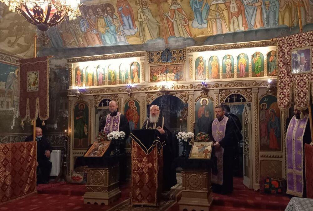 A doua parte a Canonului Sfântului Andrei Criteanul, la Biserica din Călărași-Gară