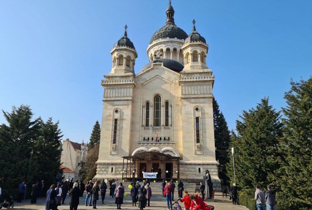 """Evenimentul """"Rugăciune pentru Viață"""", desfășurat în prezența Mitropolitului Andrei"""
