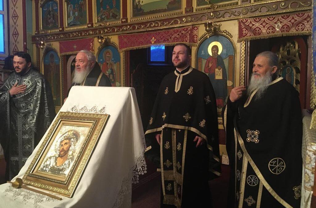 Binecuvântare arhierească în Parohia Gârboul Dejului,  în a treia zi din Postul Mare