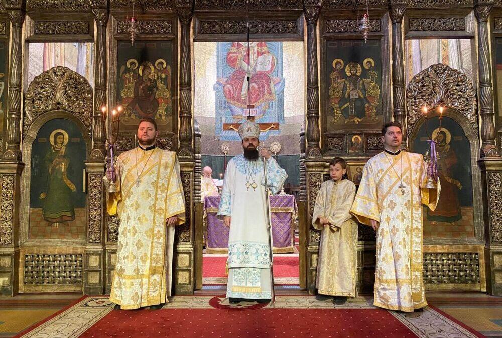 Duminica întâi din Post (a Ortodoxiei), la Catedrala Mitropolitană din Cluj-Napoca