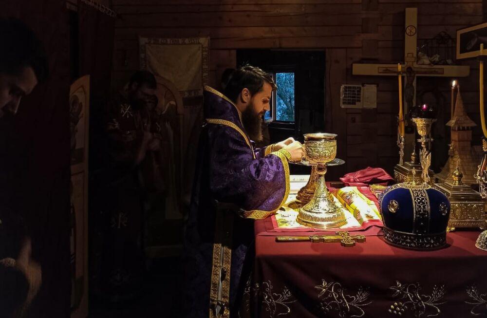Liturghia Darurilor mai înainte sfințite, la Biserica studenților din Hașdeu