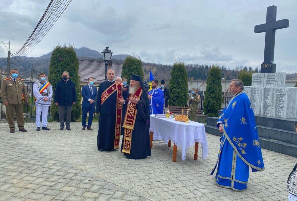 Liturghie arhierească și sfințirea Monumentului Eroilor din Tureac