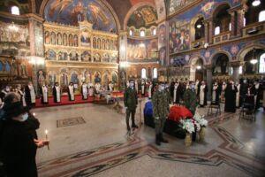 Înaltpreasfințitul Andrei a participat la înmormântarea Părintelui Prof. Ioan Ică senior