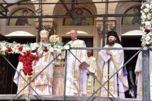 Liturghia din ziua de Paști, la Catedrala Mitropolitană | Eclesiarhul Catedralei, ridicat la rangul de arhimandrit