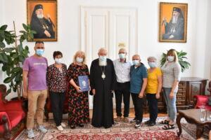 Înaltpreasfințitul Părinte Andrei a primit vizita unei delegații din ținutul natal al Mitropolitului Bartolomeu Anania
