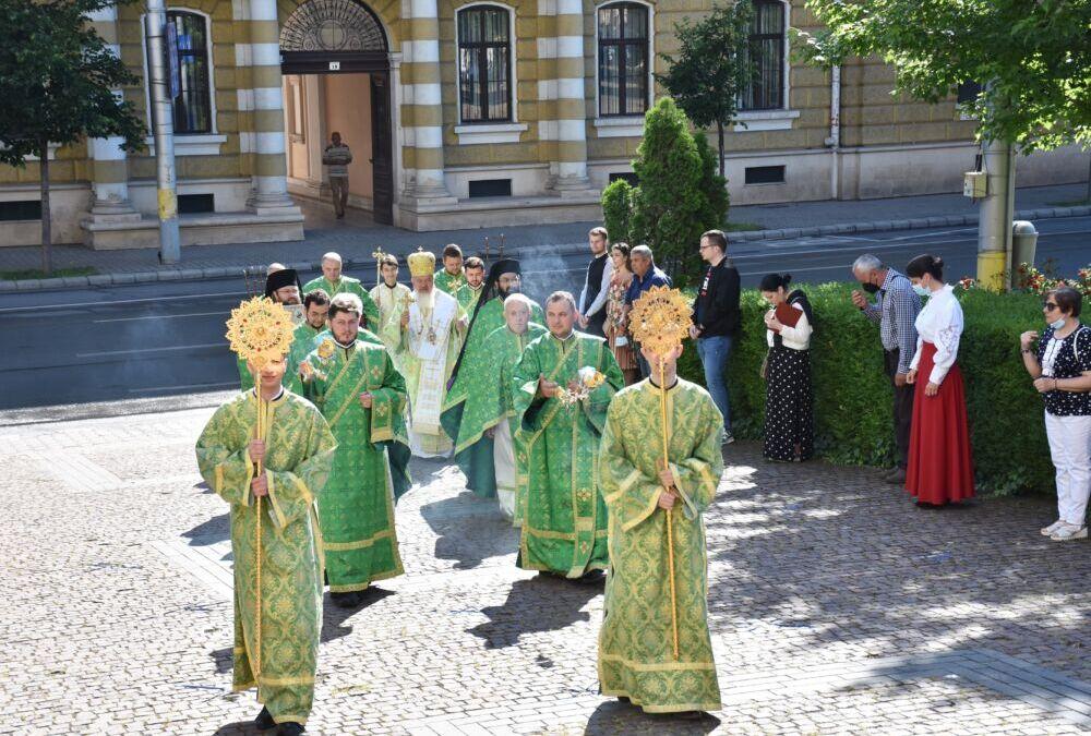 Duminica Pogorârii Sfântului Duh, prăznuită la Catedrala Mitropolitană din Cluj-Napoca